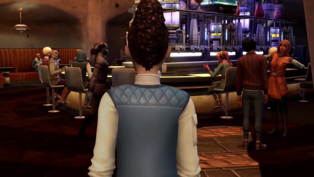 The Sims 4 Star Wars: Journey to Batuu recensione