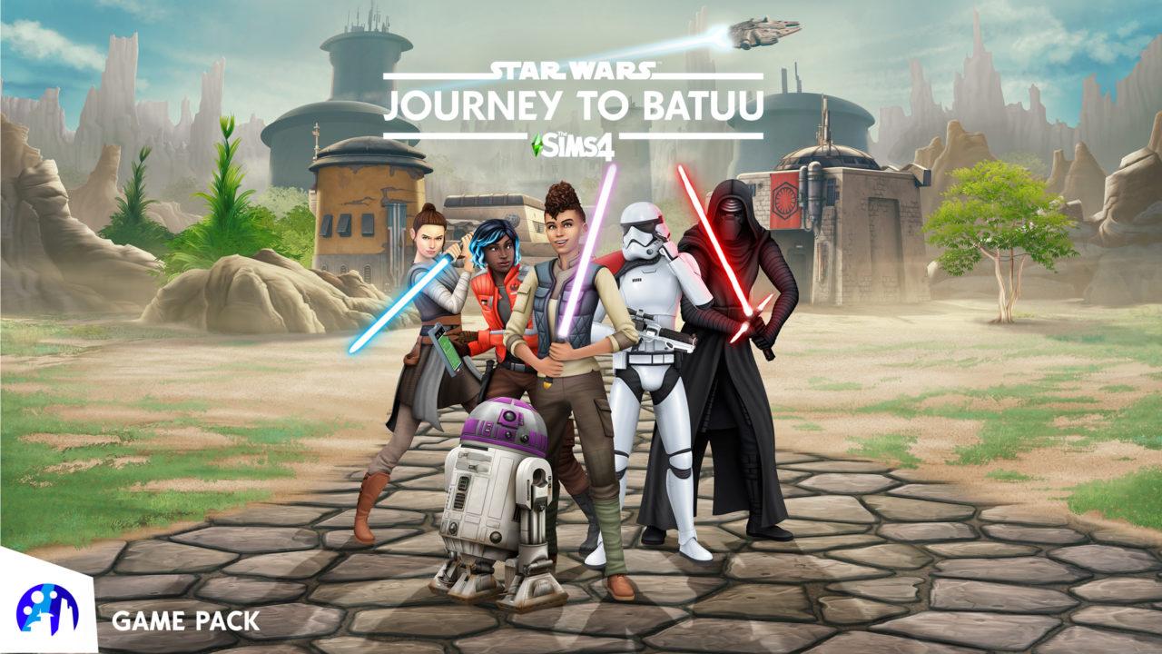 Disponibile un nuovo gameplay per The Sims 4 Star Wars - Viaggio a Batuu thumbnail