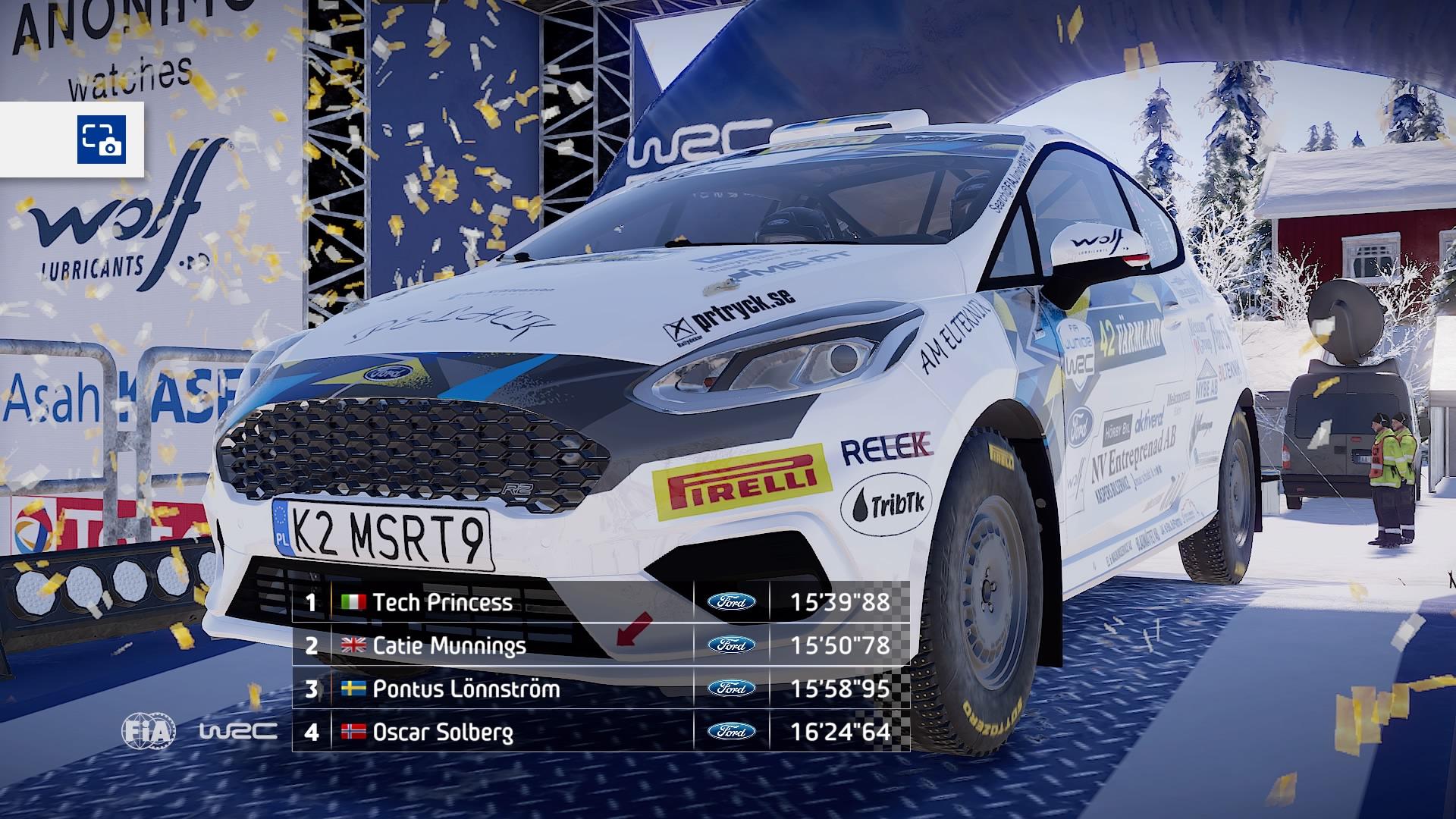 WRC 9 recensione Fiesta R2