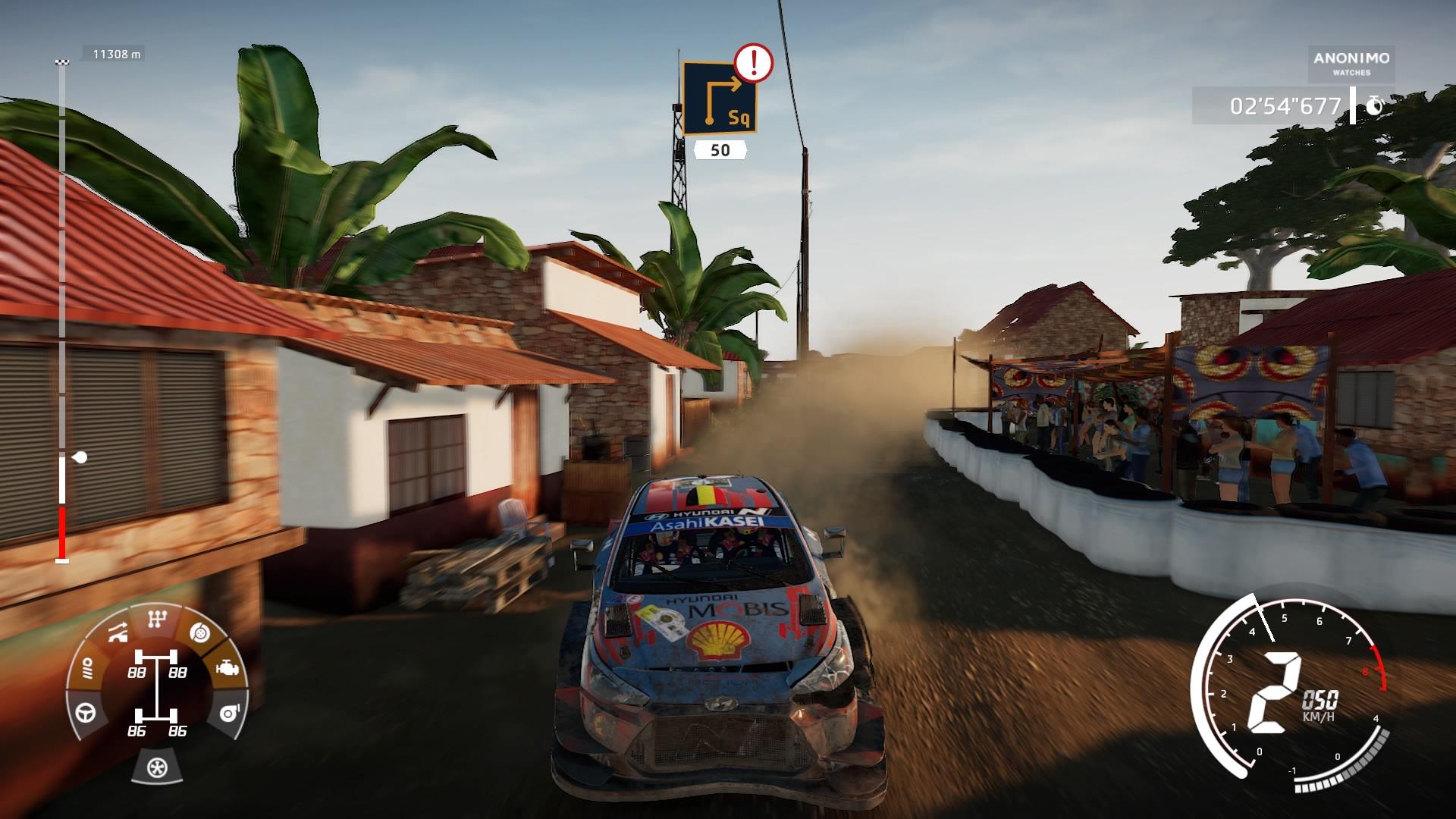WRC 9 recensione i20 incidentata