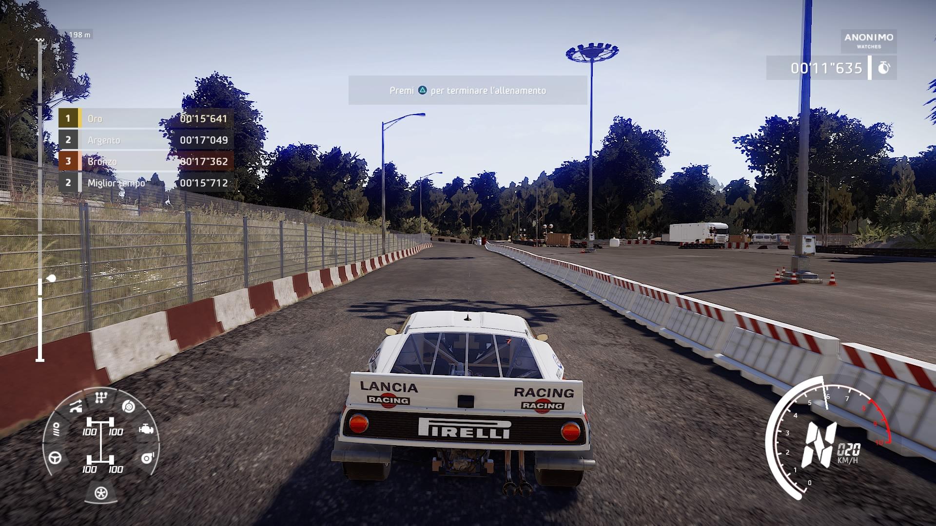 WRC 9 recensione Lancia 037
