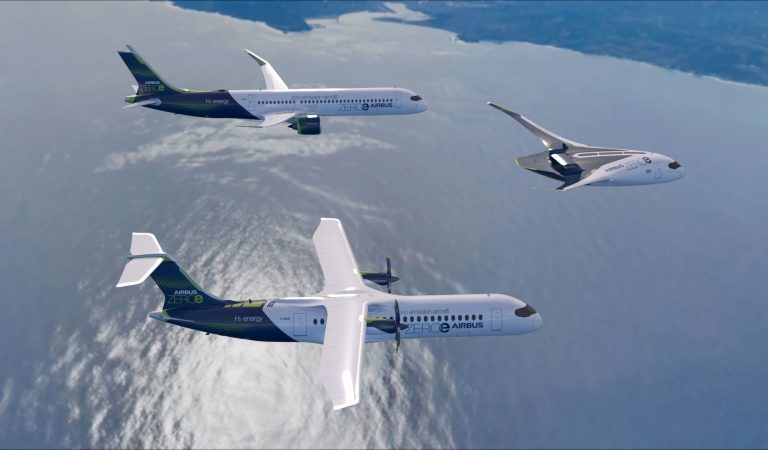 Airbus: il futuro del volo è l'idrogeno. Ma in che forma?