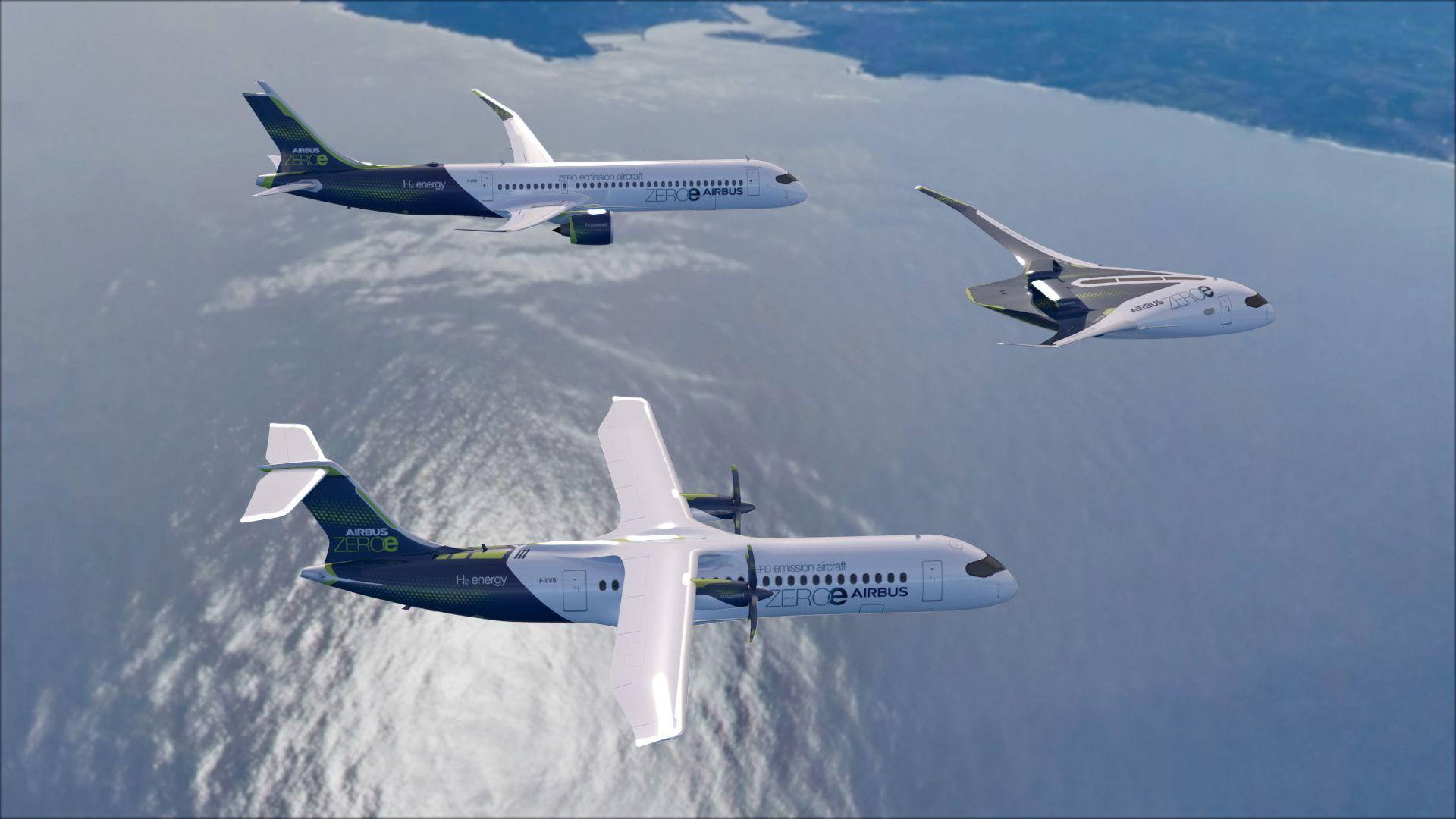 Airbus: il futuro del volo è l'idrogeno. Ma in che forma? thumbnail