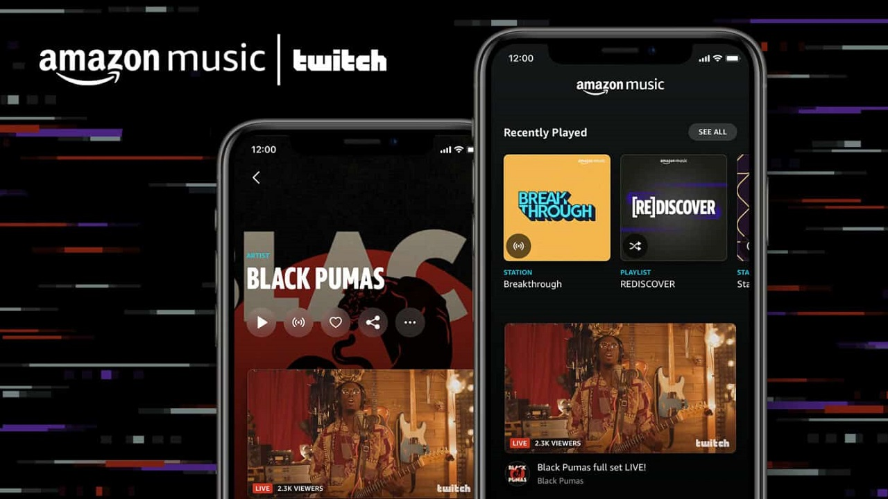 Amazon Music e Twitch insieme per i live streaming musicali thumbnail