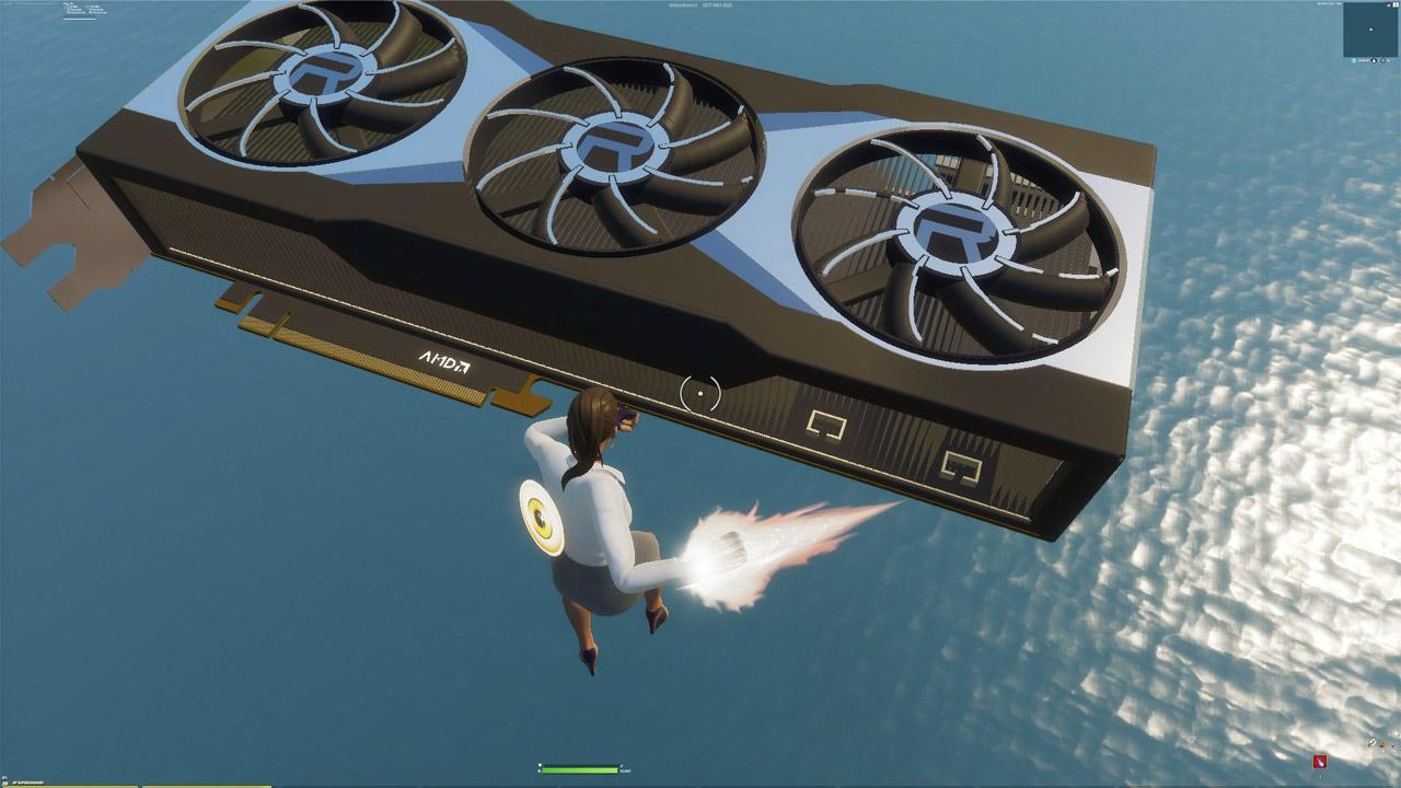 AMD mostra la Radeon RX 6000 su Fortnite thumbnail