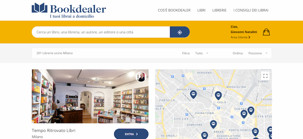 bookdealer sito