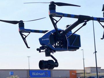 drone walmart test covid