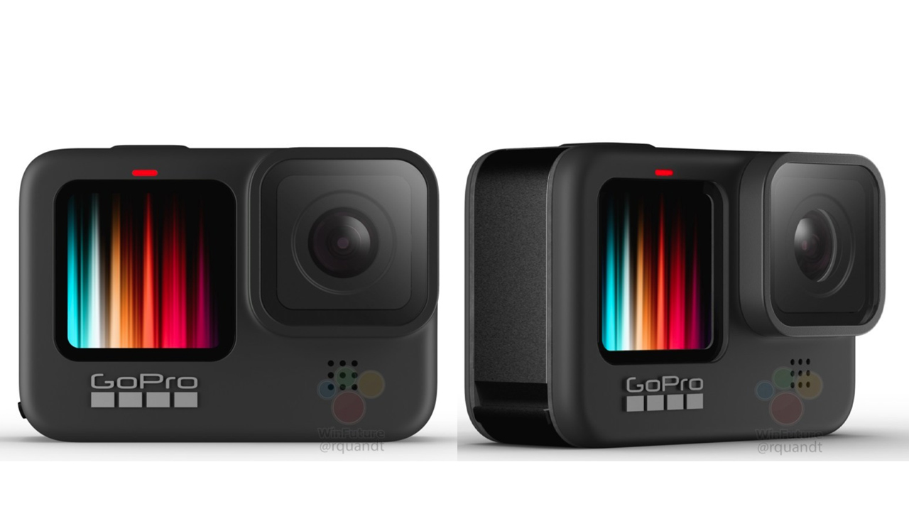 La nuova GoPro Hero 9 avrà uno schermo frontale a colori? thumbnail