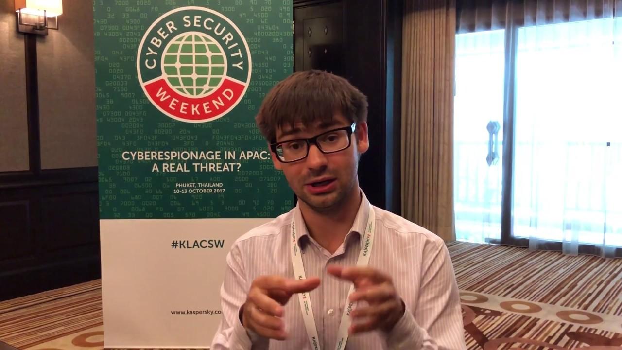 sicurezza informatica Yuri Namestnikov Kaspersky