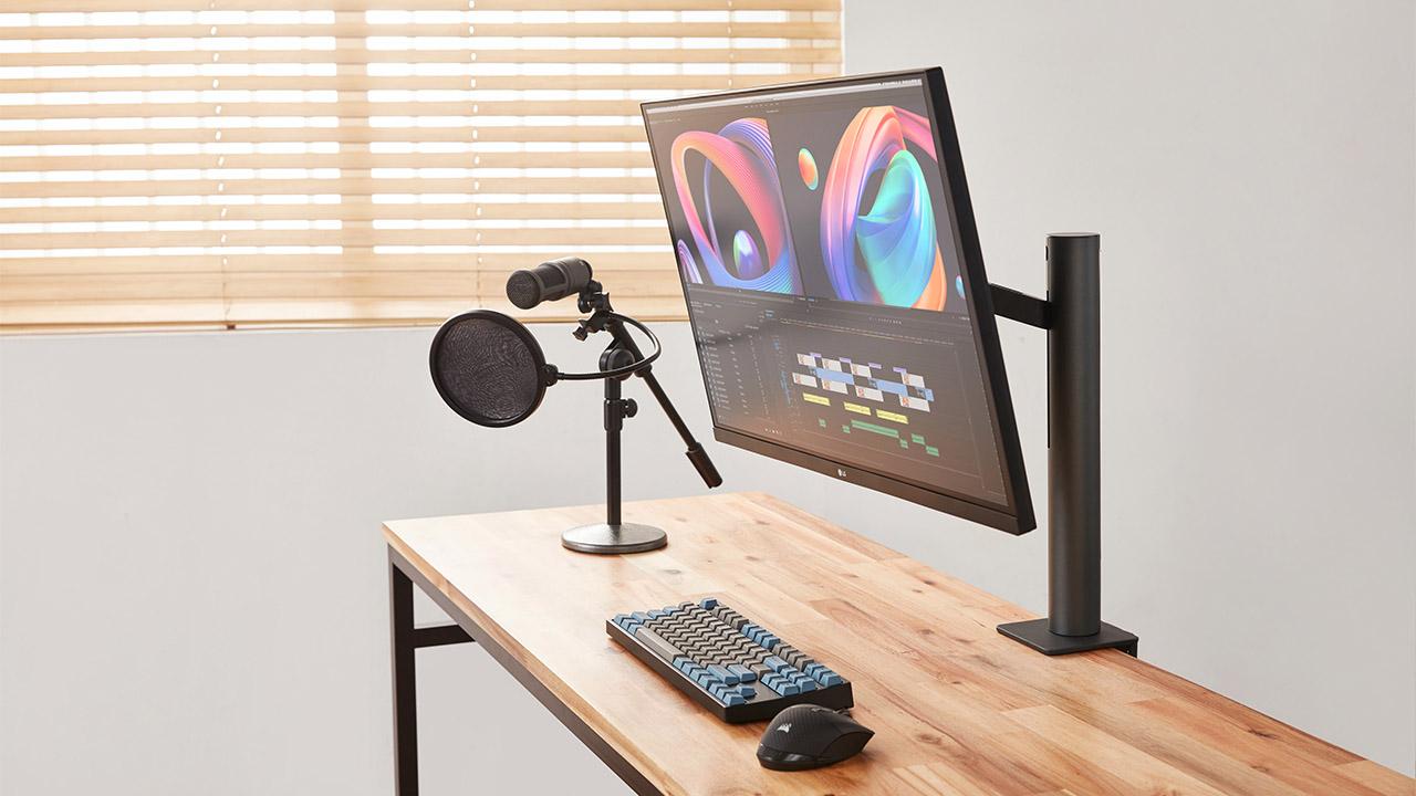 Ecco il nuovo monitor di LG per aumentare la produttività thumbnail