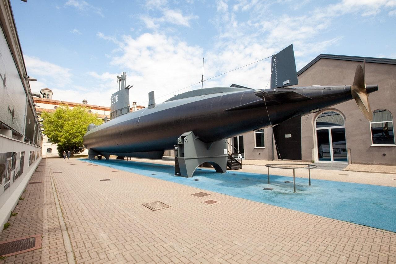 museo nazionale scienza e tecnologia sottomarino toti