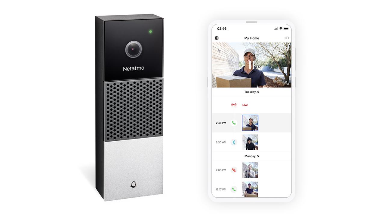 netatmo campanello intelligente con videocamera