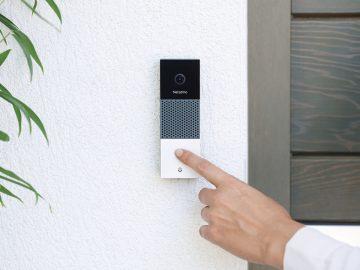netatmo campanello intelligente senza fili con videocamera