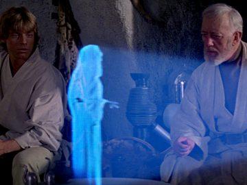 ologramma Star Wars ricercatori