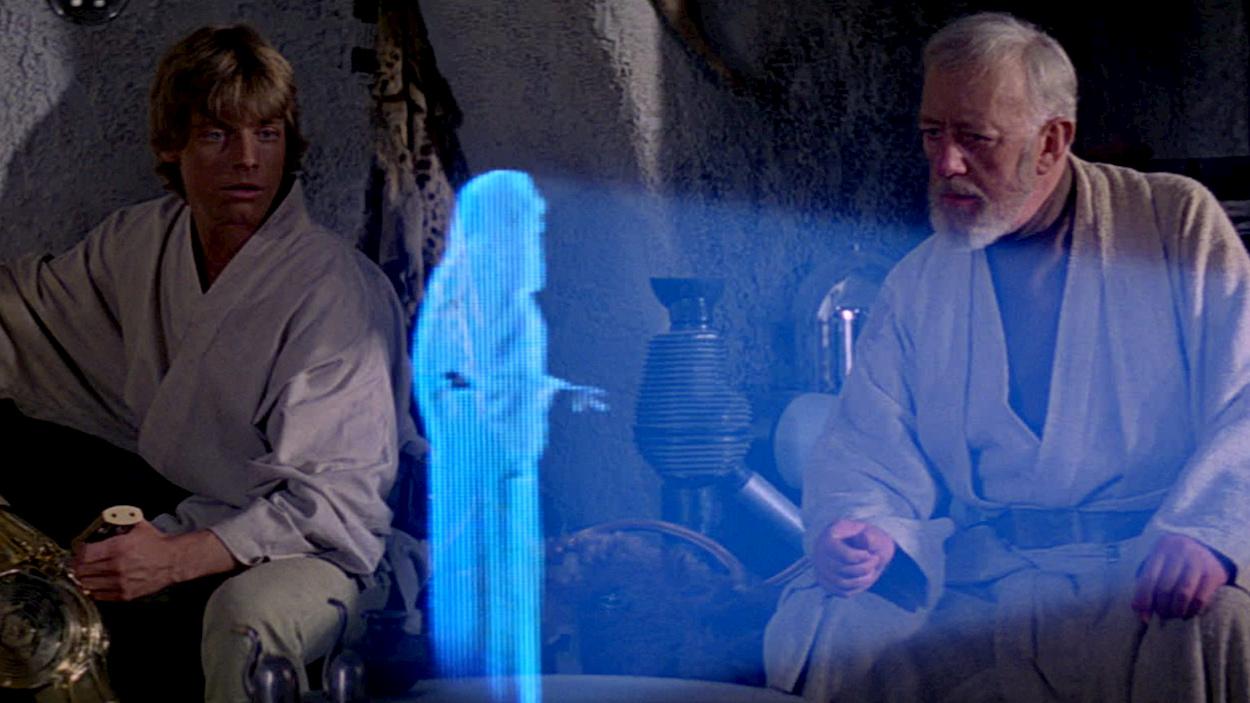 Un passo più vicini agli ologrammi di Star Wars nella vita reale thumbnail
