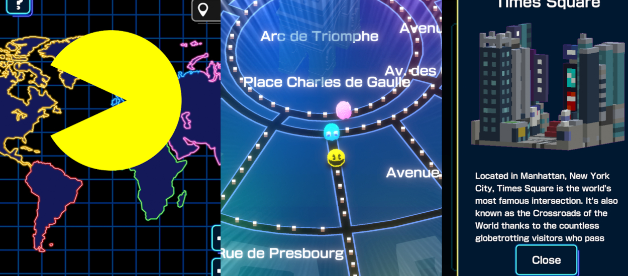 Arriva Pac-Man nel mondo reale (ma purtroppo non in realtà aumenta) thumbnail