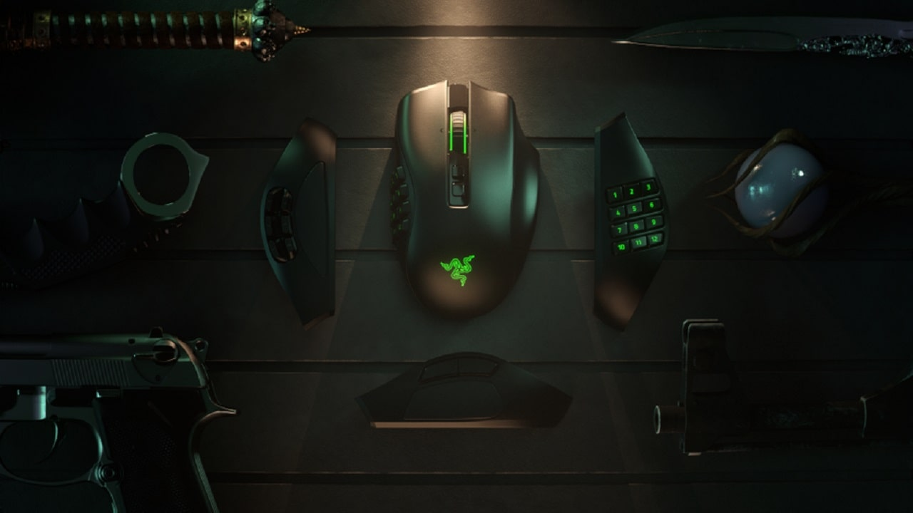 Il nuovo Razer Naga Pro è un mouse da gaming che vale per tre thumbnail