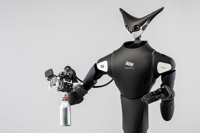 robot telelavoro giappone telexistence
