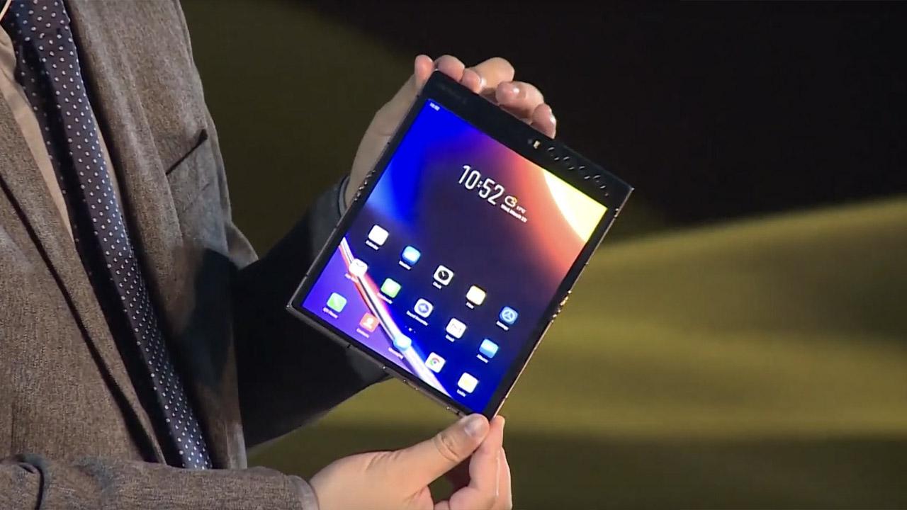 Un altro smartphone pieghevole è all'orizzonte thumbnail