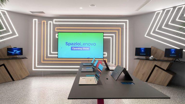 spazio lenovo concept store milano