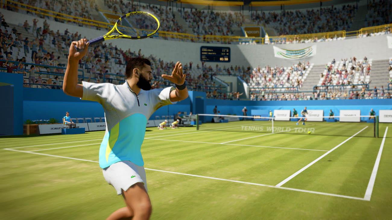 Scendere su un vero campo da tennis, o quasi thumbnail