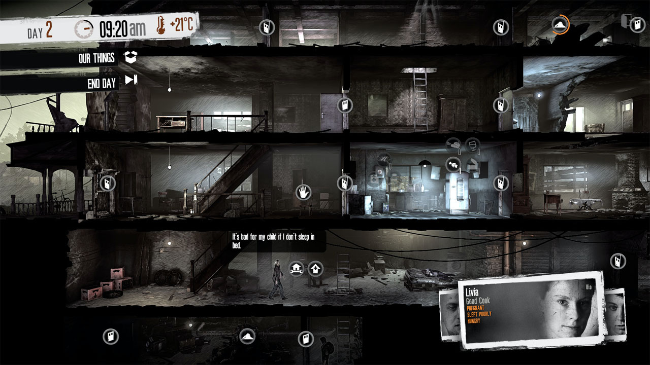 this war of mine game to human