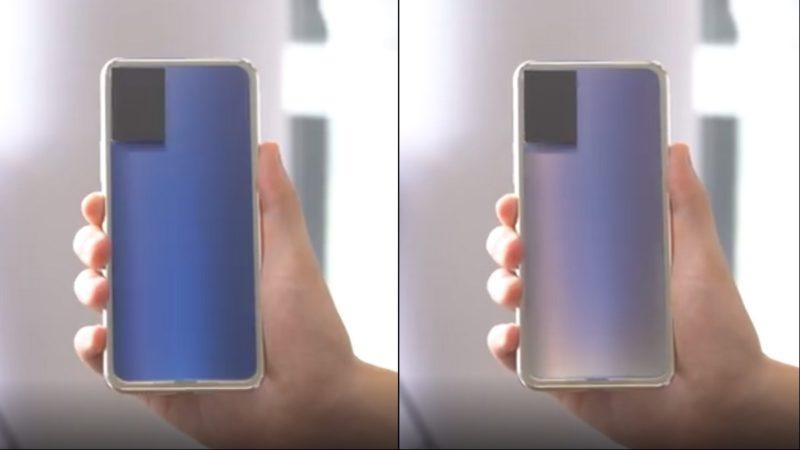 Vivo, ecco lo smartphone che cambia colore grazie al vetro elettrocromico thumbnail