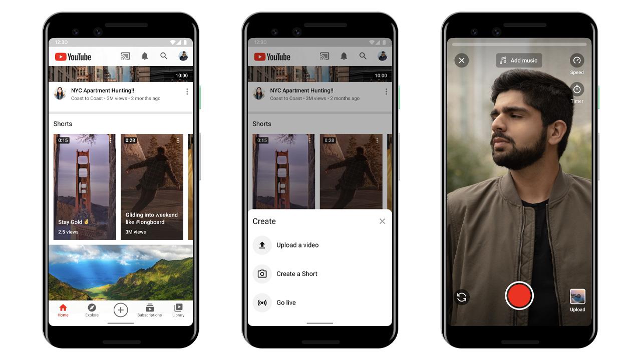 youtube shorts video brevi