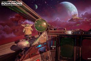 Baby Yoda sta arrivando in Star Wars: Squadrons  Il simulatore di volo nello spazio omaggia The Mandalorian con un piccolo tributo