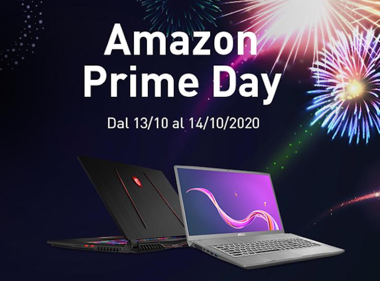 In occasione degli Amazon Prime Day, oltre 500 € di sconto sui laptop MSI thumbnail
