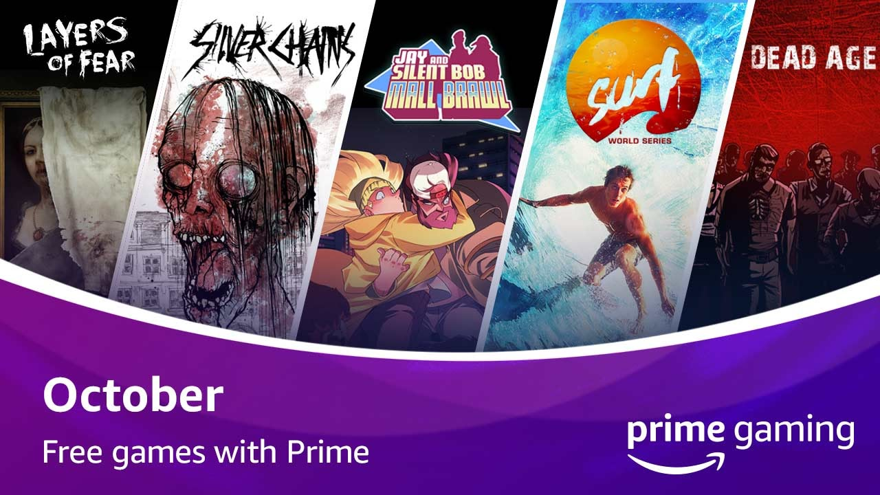 I giochi gratuiti di Amazon Prime per il mese di ottobre thumbnail