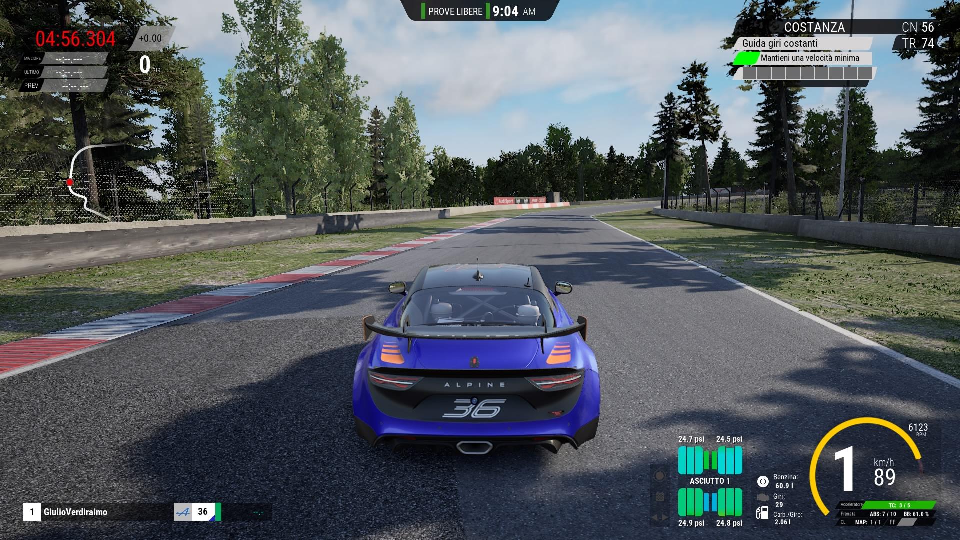 Assetto Corsa Competizione DLC GT4 Alpine A110