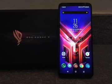 Asus ROG Phone 3 Gaming mode