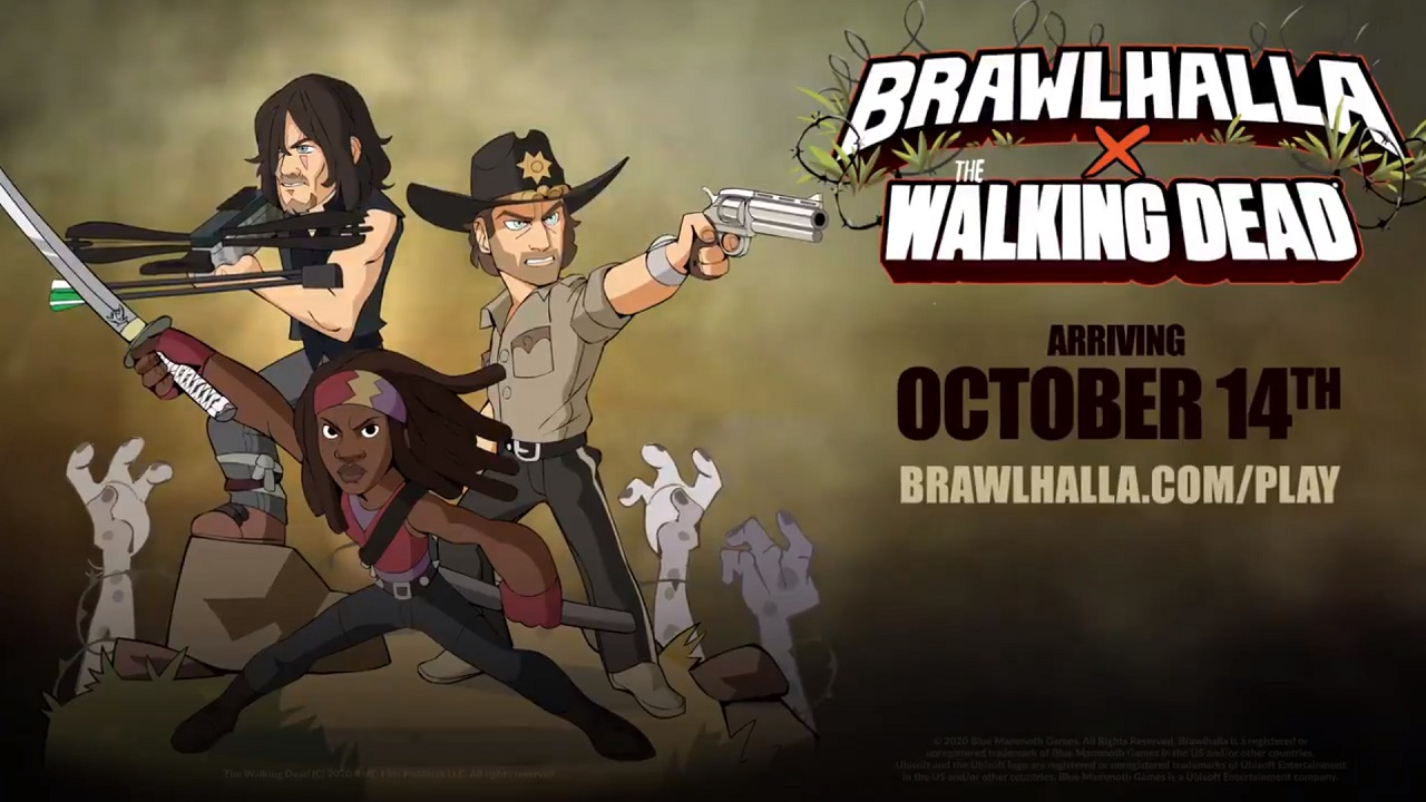 Alcuni personaggi di The Walking Dead arriveranno in Brawlhalla come epici crossover thumbnail