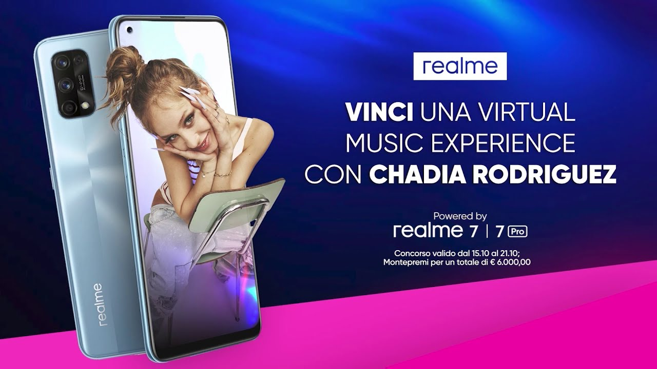 Realme collabora con Sony Music Italy, ecco il contest per i fan thumbnail