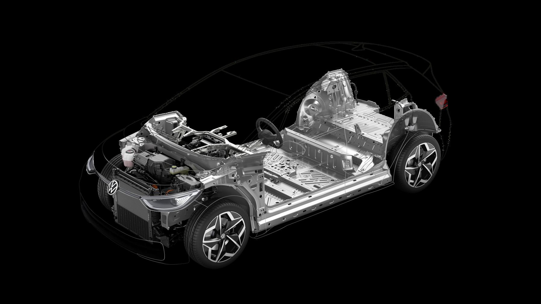 Volkswagen ID.3 2020 pianale MEB