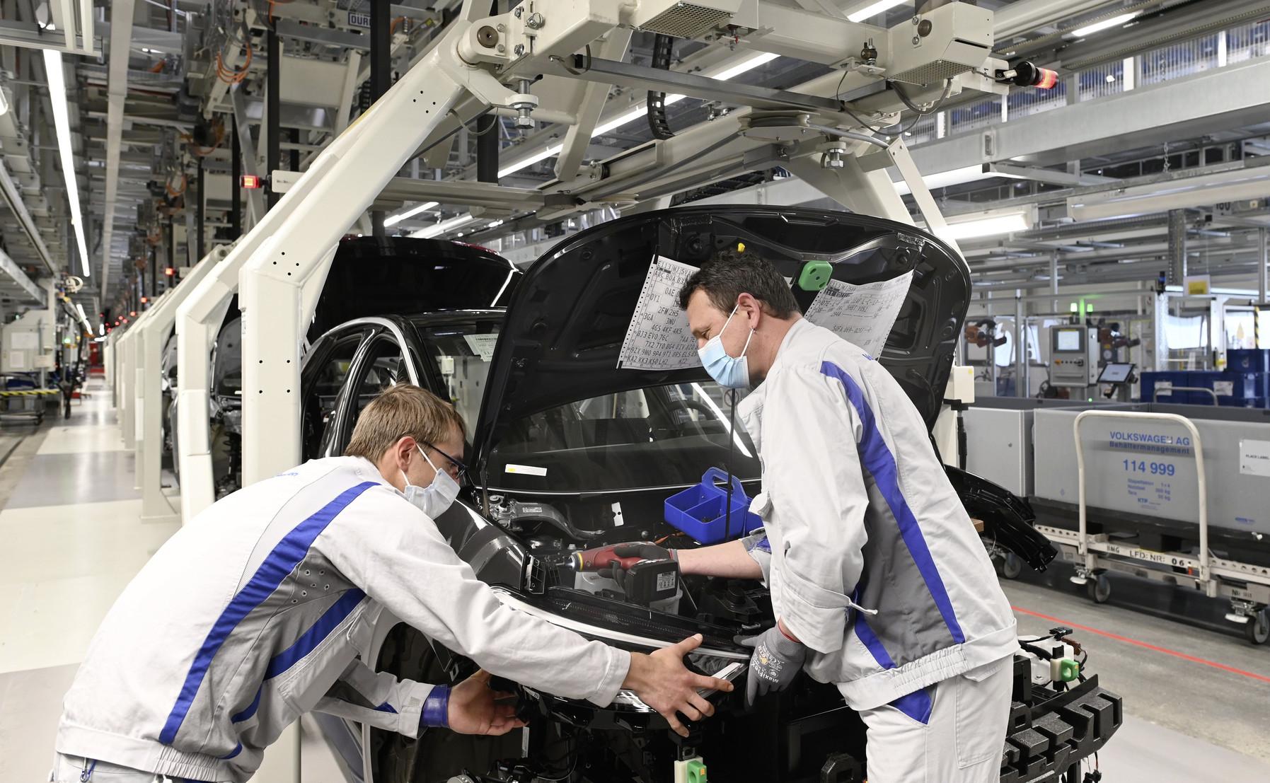 Volkswagen ID.3 2020 linea di produzione