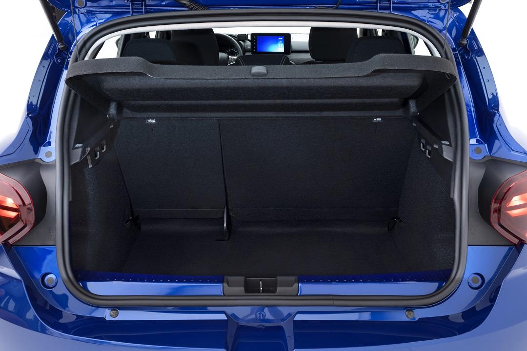 Dacia Sandero 2020 bagagliaio