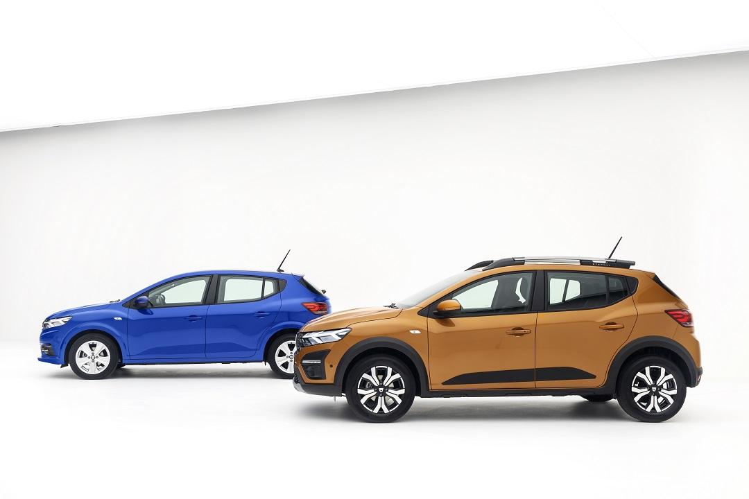 Dacia Sandero 2020 insieme laterale