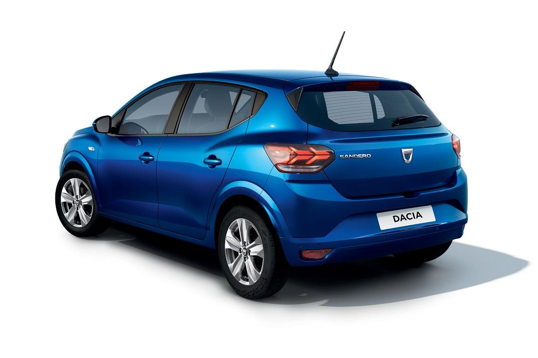 Dacia Sandero 2020 posteriore completo