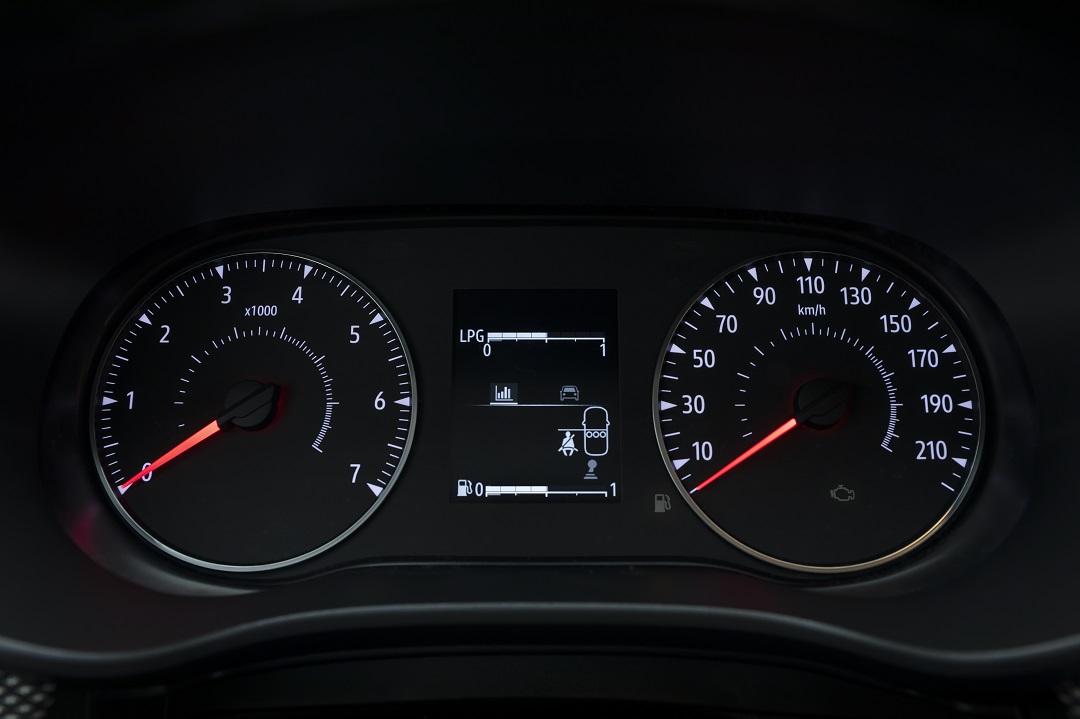 Dacia Sandero 2020 quadro strumenti