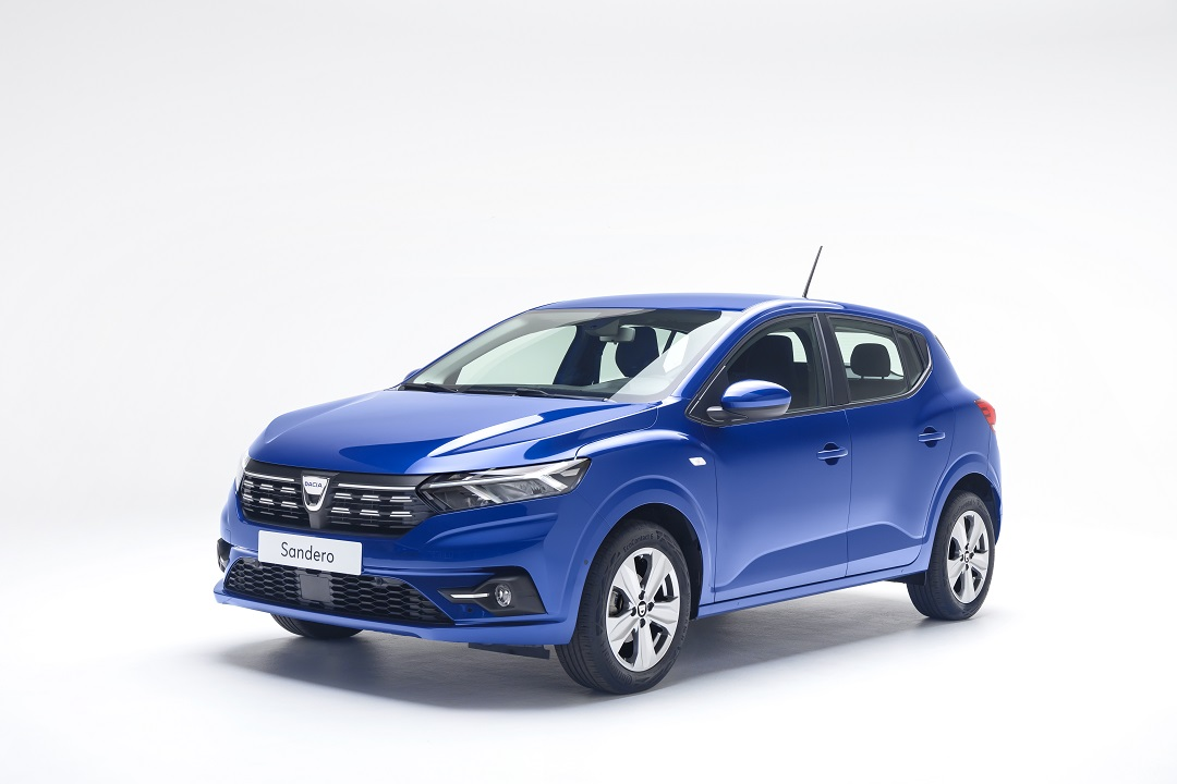 Dacia Sandero frontale
