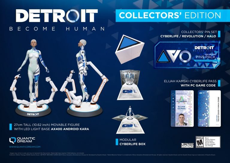 Detroit Become Human Collector's edition
