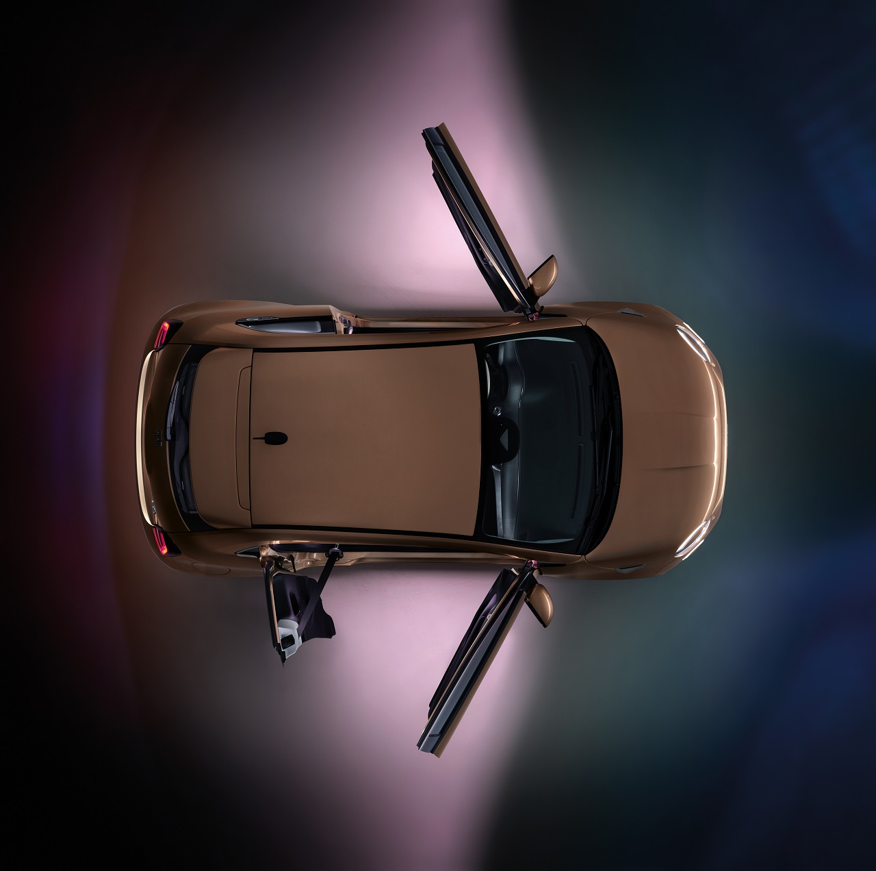 FIAT 500 3+1 apertura porte