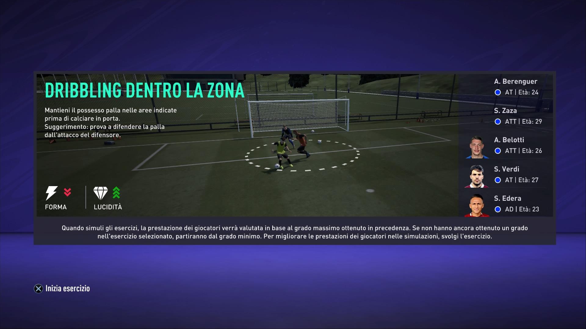FIFA 21 Allenam. Carr.