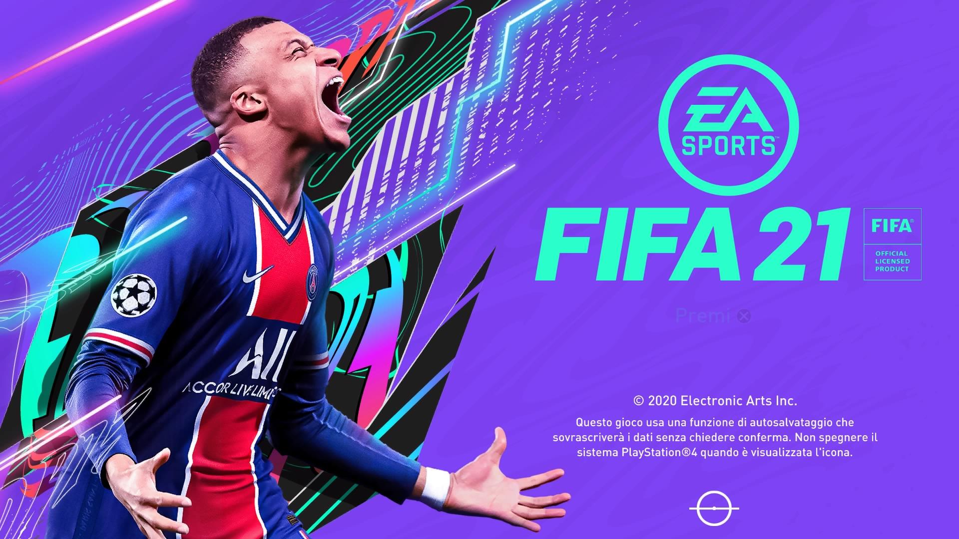 FIFA 21 Intro