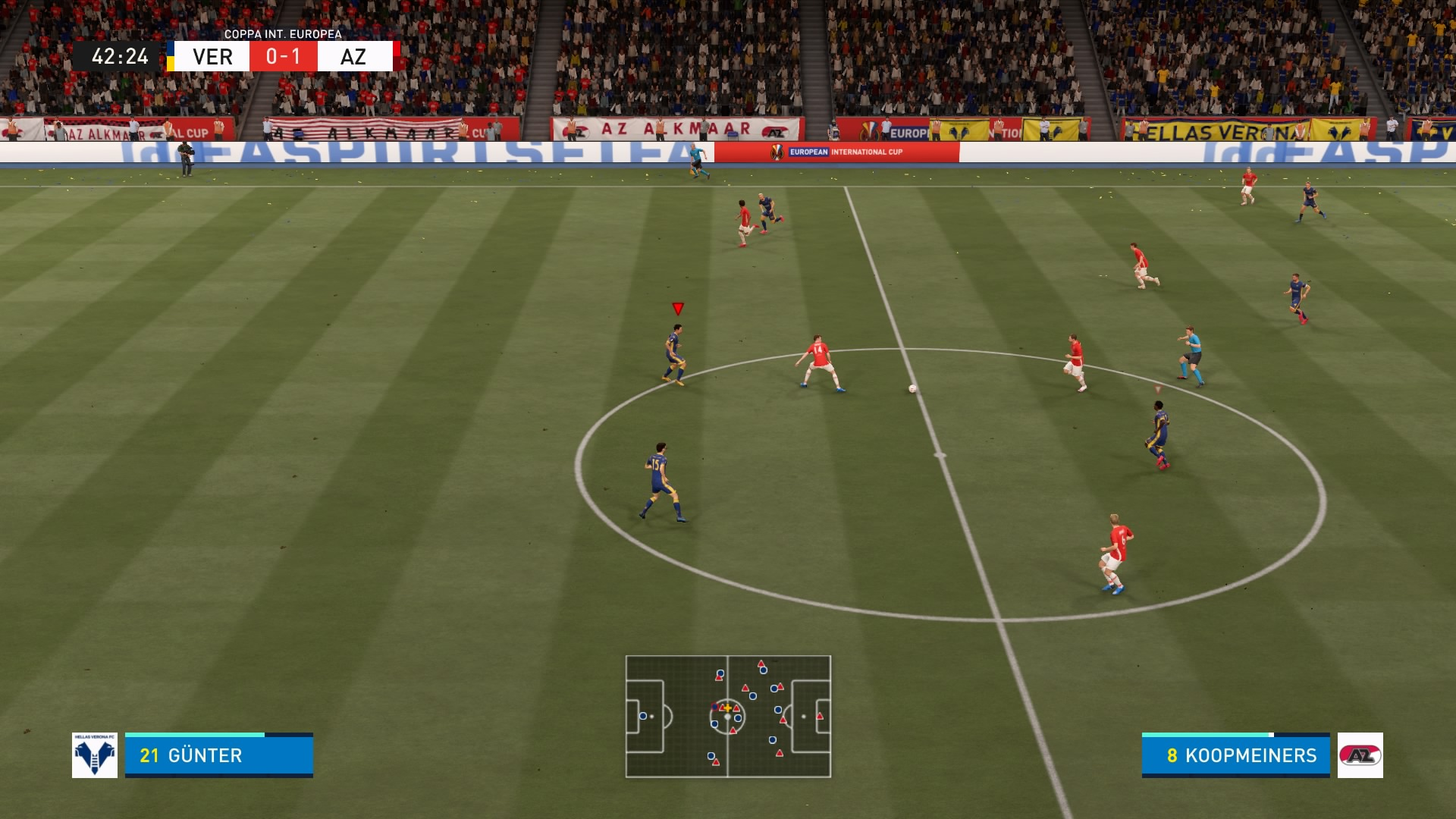FIFA 21 inserimenti