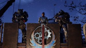"""Bethesda annuncia Fallout 76: Alba d'Acciaio  Con il trailer """"Reclutamento"""" Bethesda presenta il primo capitolo di avventure della Confraternita d'Acciaio"""