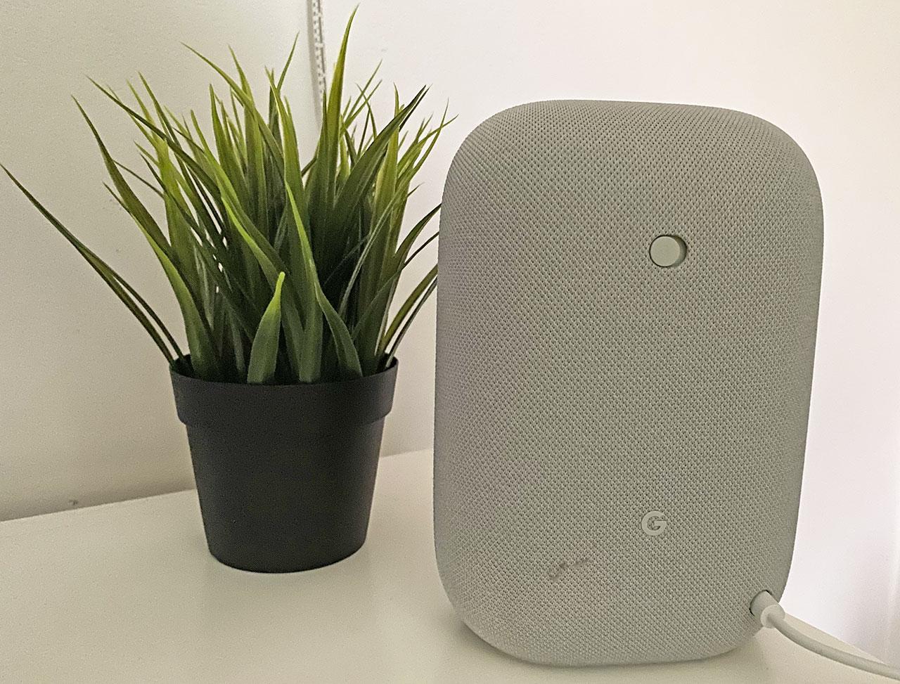 Google Nest Audio recensione design