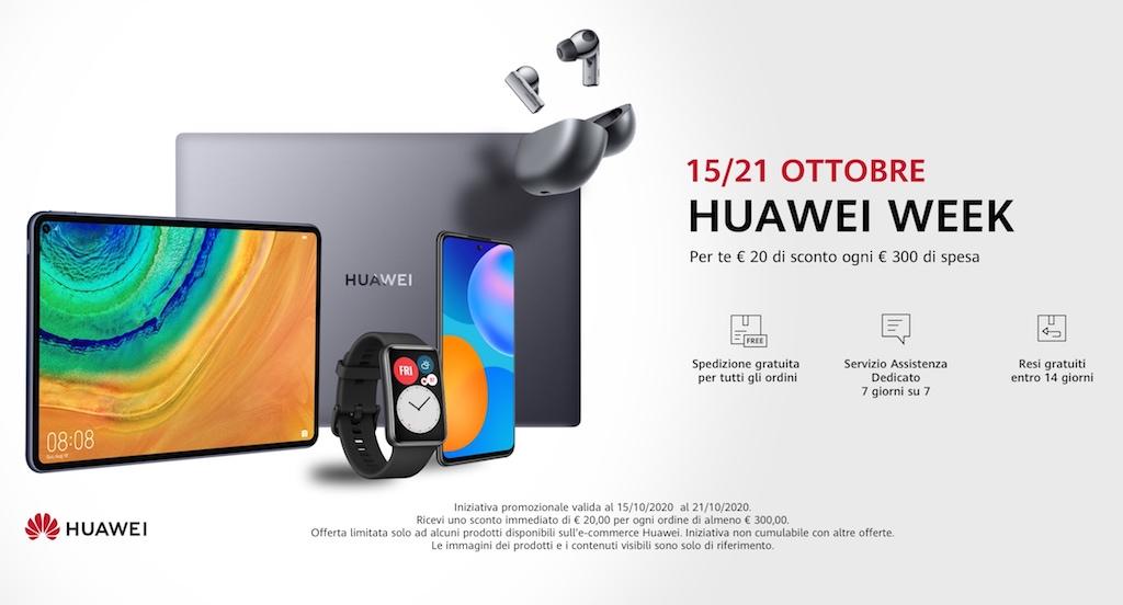 Con la Huawei Week sconti fino a 500 € nello store Huawei thumbnail